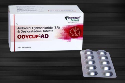 Ambroxol 75 mg & Desloratadine 5 mg