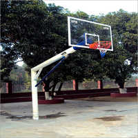 Metal Basket Ball Pole