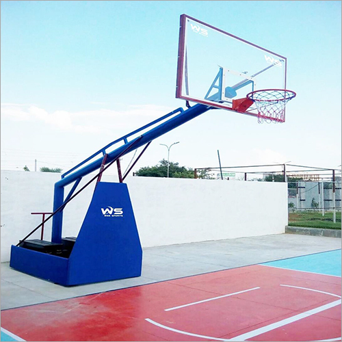 Outdoor Basketball Pole