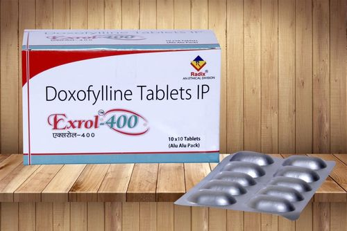 Doxofylline 400 Mg Tablets