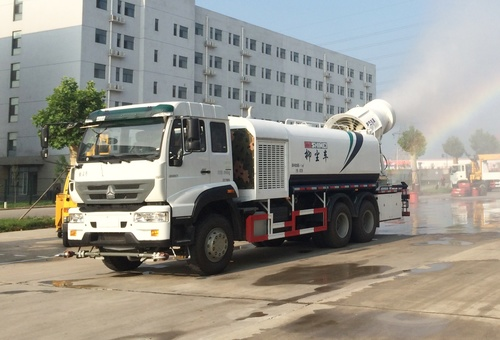 dust suppression multi-purpose anti-dust truck water sprinkler water cart