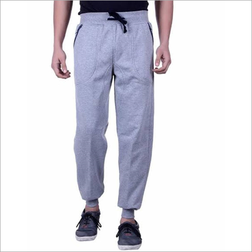 Grey Mens Plain Lower