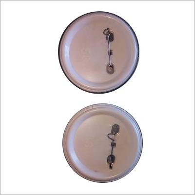 Safety Pin Round Badge