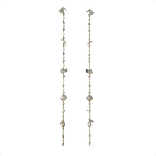 Brass German Jhula Chain Set