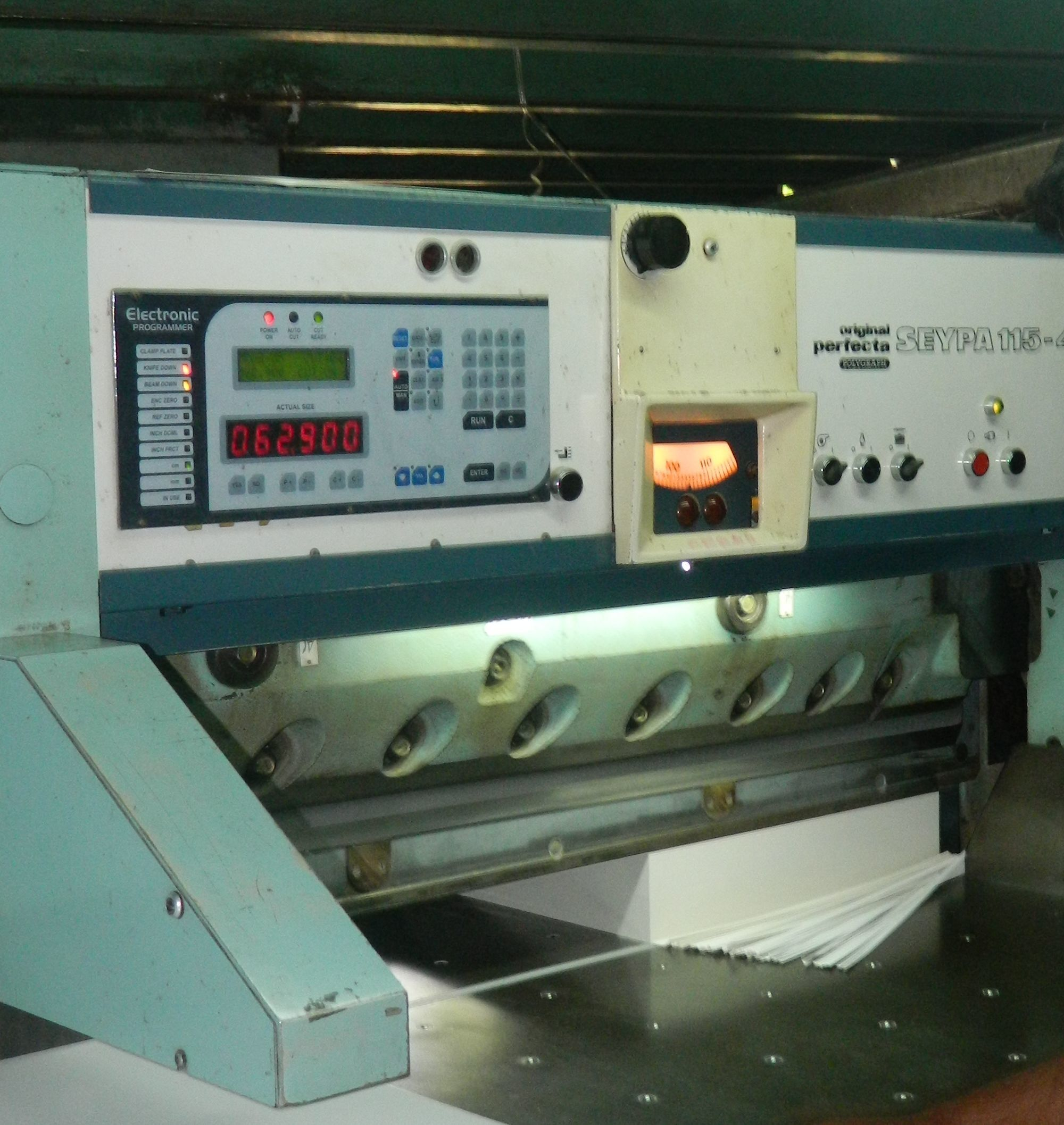 Accucut for Cutting Machine Schneider