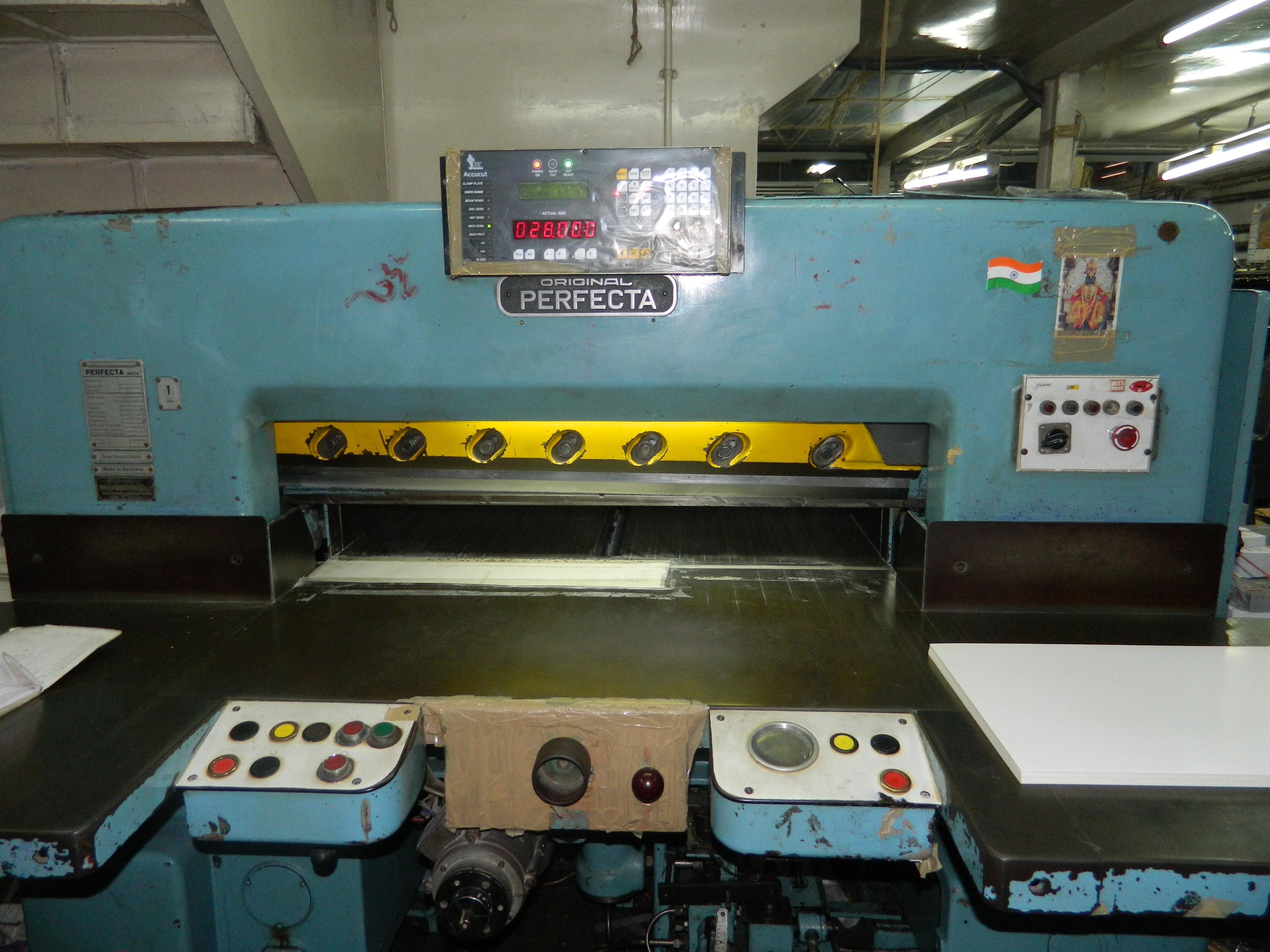 Accucut for Cutting Machine Schneider