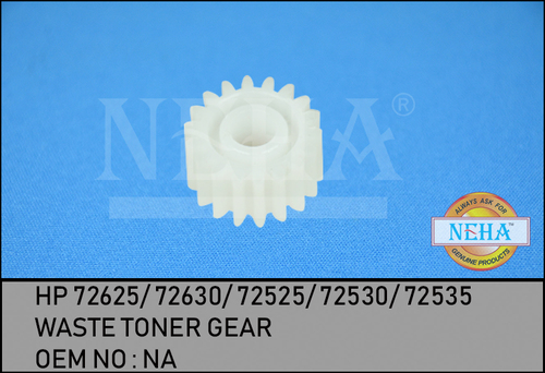 WASTE TONER GEAR