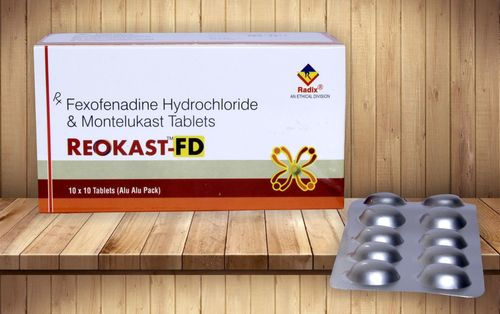Montelukast 10 Mg & Fexofenadine 120 Mg