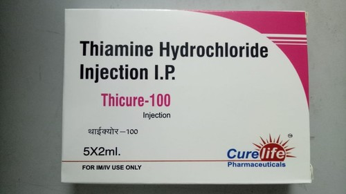 Thicure-Thiamine hydrochloride Injection 100mg