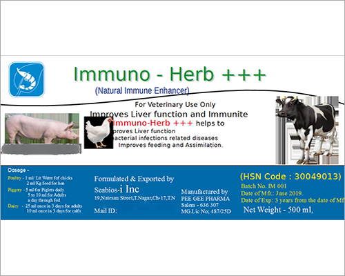 Immuno Herb Enhancer Compound