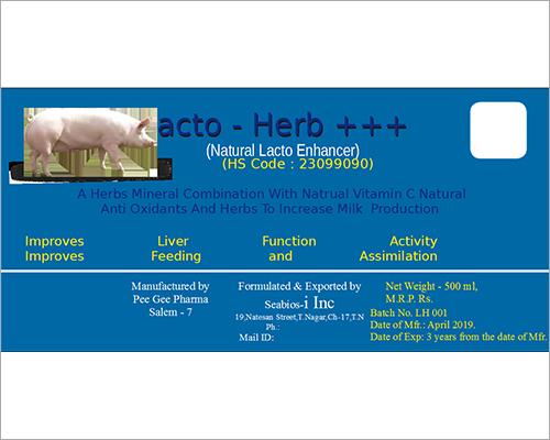 Natural Lacto Enhancer Compound