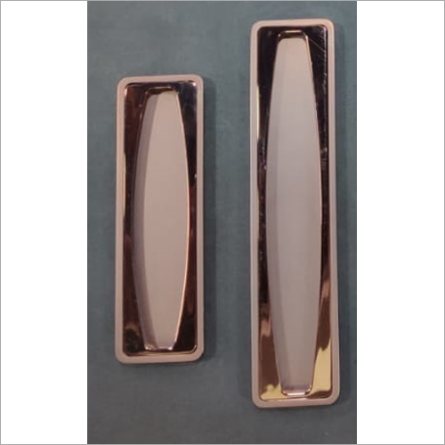 Designer Recessed Pull Sliding Door Handle