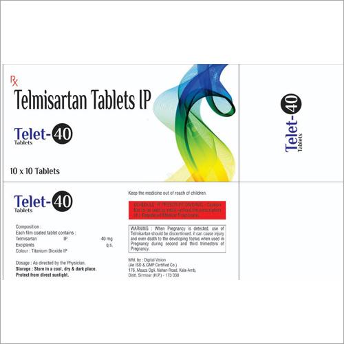 Telmisartan Tablets IP-40