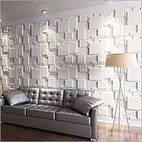 3D Living Room Bamboo Panels