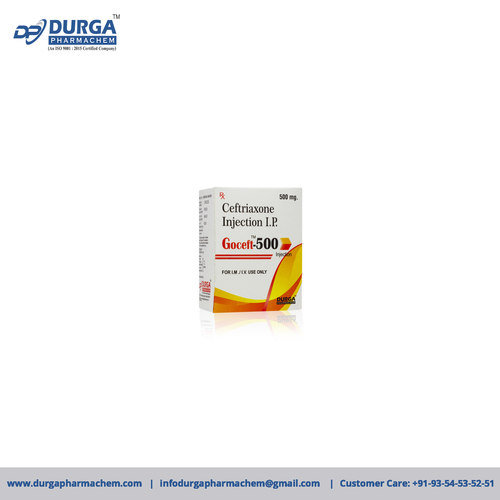 Ceftriaxone Sodium 500 mg