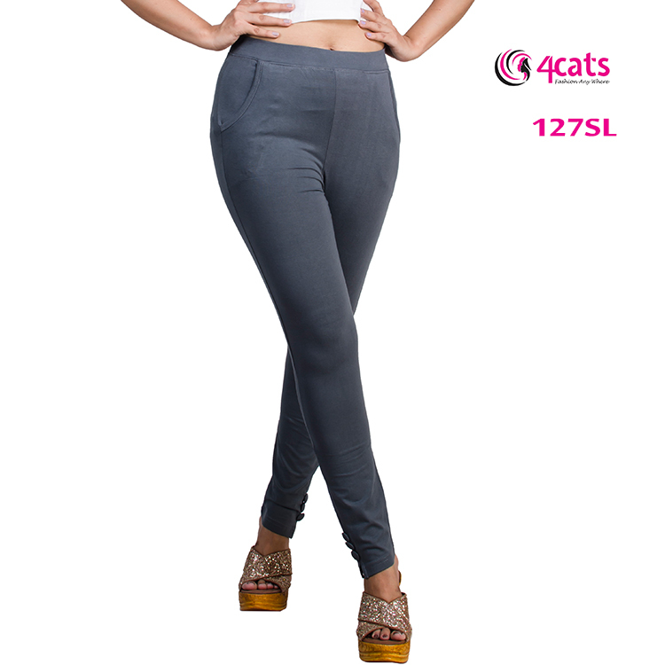 COTTON TROUSER WITH BUTTONS