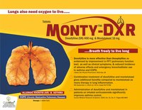 Montelukast 10 mg & Doxophylline 400 mg (Sustained Release)