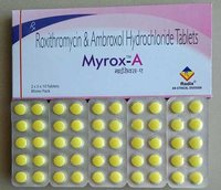 Roxithromycin 150 Mg & Ambroxol 30 Mg Tablets