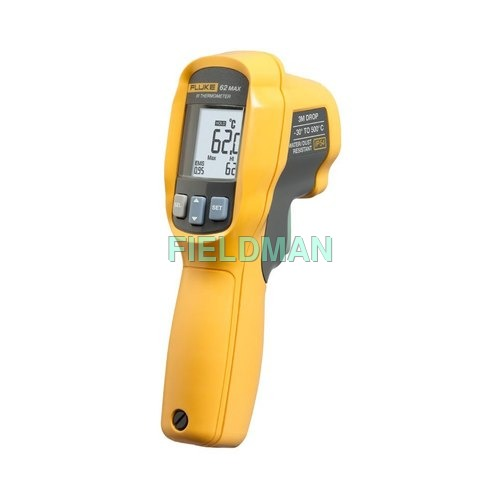 Fluke-62Max - IR Thermometer -30°C to 500°C, D:S - 10:1, IP-54