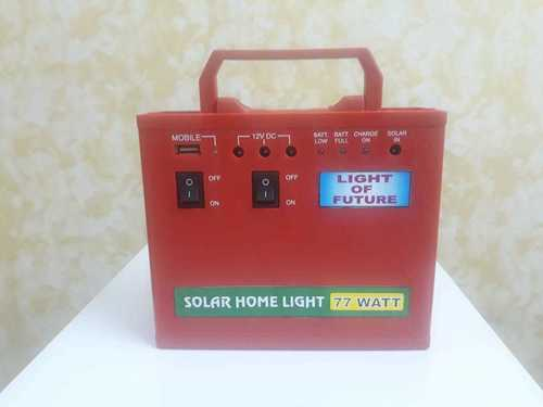Solar Home Light Combo Pack  Including 12 W  12V