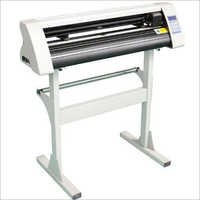 White Cutting Plotter Machine