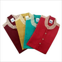 Kids Cotton Kurta Set