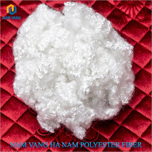 100 Percent Recycled Hollow Conjugated Siliconised Fiber