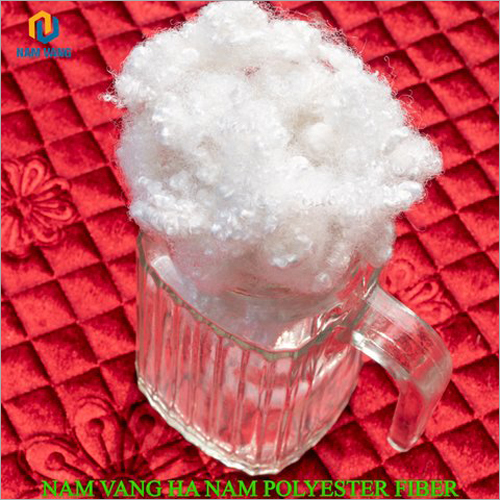 15D X 32-51-64 MM Hollow Conjugated Siliconized Polyester Staple Fiber