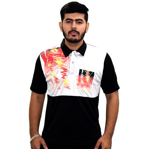 Mens Printed Sports T- Shirt