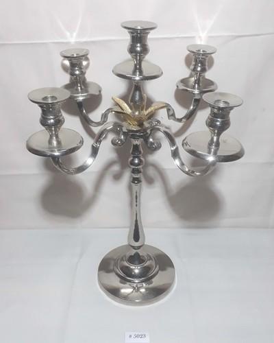aluminium candle holder