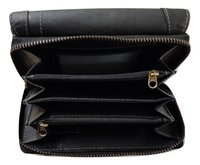 Women Black Genuine Leather Wallet