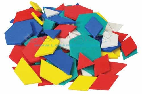 Pattern Blocks Set of 250 Pcs