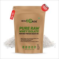 Health Oxide Whey Protein Isolate (Raw & Unflavored / 27 G Protein per Serving) – 250 Gm