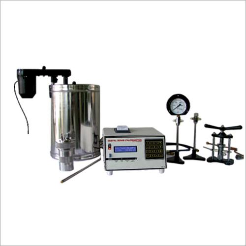 Semi Automatic Bomb Calorimeter