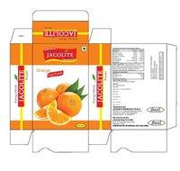 Jacolite Orange Flavor Instant Energy Drink Powder