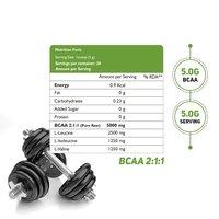 HEALTHOXIDE Raw Bcaa Powder Pre/Post Workout Supplement -100 g