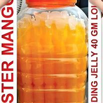 MISTER MANGO LOVE LITCHI JELLY 10 GM X 100 PCS X 15 JAR MRP RS.1/- PER PCS