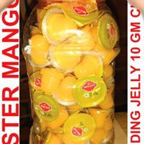 LITCHI CUP JELLY 10 GM X 100 PCS X 15 JAR MRP RS.1/- PER PCS