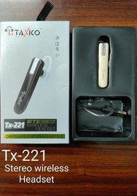Tx-221 Wireless Headset Bluetooth