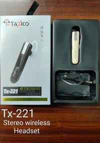 Tx-221 Wireless Headset Bluetooth