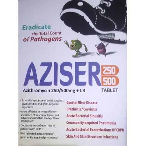 Aziser 250 Tablet