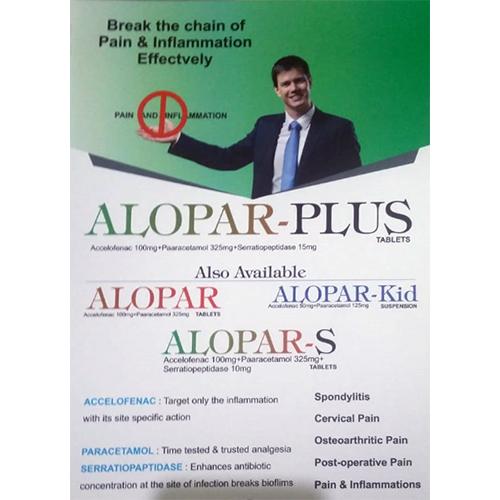 Alopar-Plus Tablets