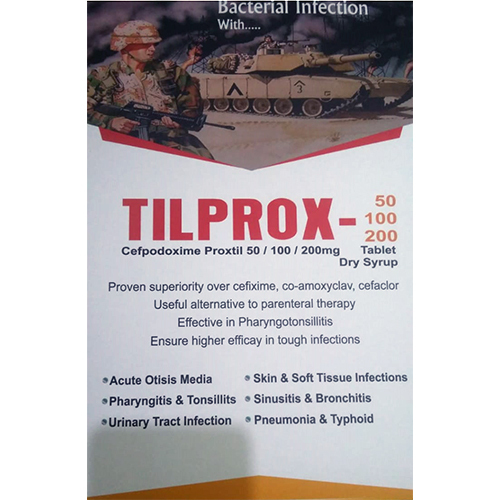Tilprox-50,100,200 Tablet