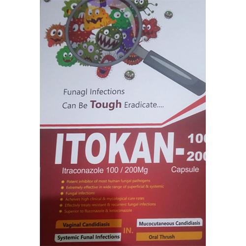 Itokan-100,200mg Capsule
