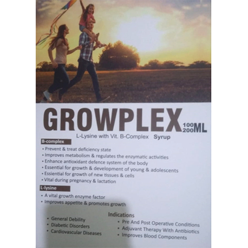 Growplex-100,200ml Syrup