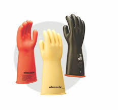 Class 2 Electrical Insulated Rubber Hand Glove