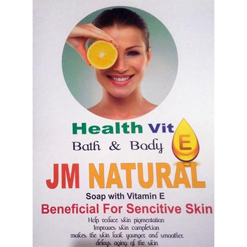 JM Natural Soap With Vitamin E