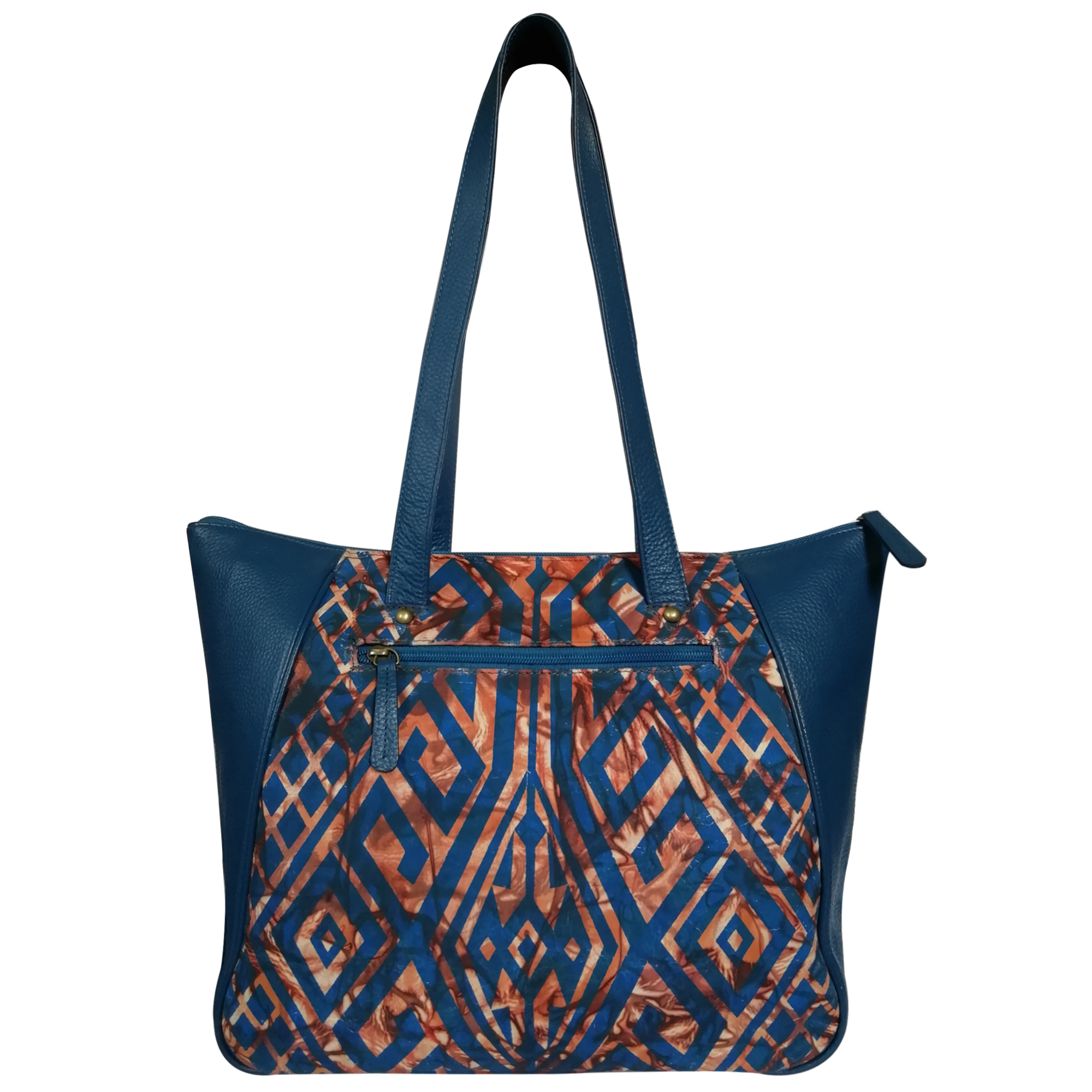 New Hand Painted Leather Tote For Women