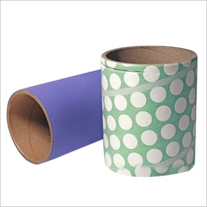 Fully Drawn Yarn And Partially Oriented Yarn Paper Tubes