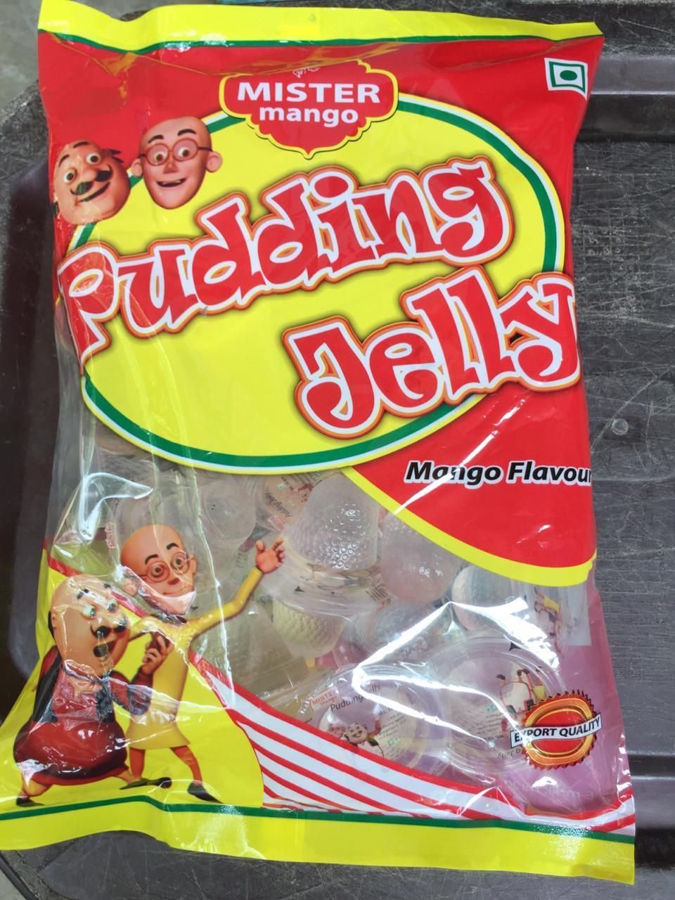 Mango Pudding Jelly Packets